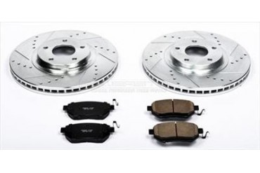 Power Stop Performance Brake Upgrade Kit K091 Replacement Brake Pad and Rotor Kit