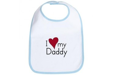 I Love my Daddy Cupsthermosreviewcomplete Bib by CafePress