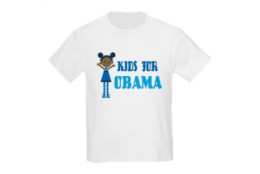 Kids For Obama Kids Light T-Shirt