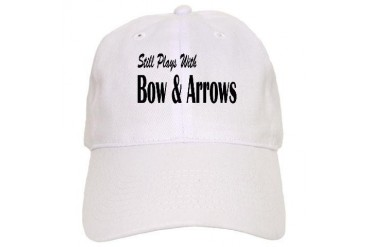 Plays With Bow Arrows Hobbies Cap by CafePress