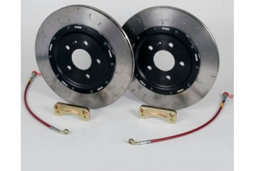 STaSIS 305mm Rear Legacy Brake Kit Audi A4 B6 02-04