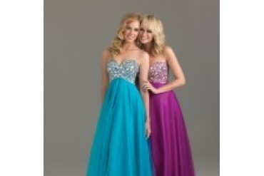 Night Moves Prom Dresses - Style 6411