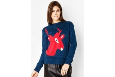Red Lips Britney Sweater