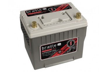 Braille Lithium Ion Intensity Starting Battery 2320 Amp 9 x 7 x 9 inch Left Positive BCI 25