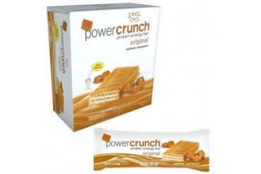 Power Crunch Protein Genius Salted Caramel 12ct Energy Bar Wafer Cookie