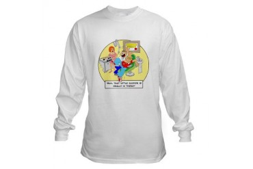 Sucker is really in there Occupations Long Sleeve T-Shirt by CafePress