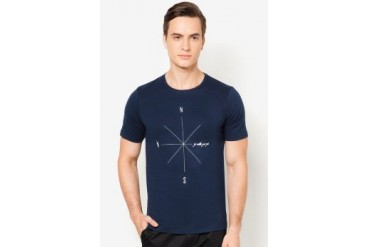 EZRA by ZALORA Go With Your Guts Tee