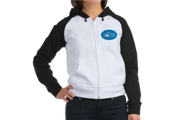 Nobama 2012 Obama Women's Raglan Hoodie by CafePress