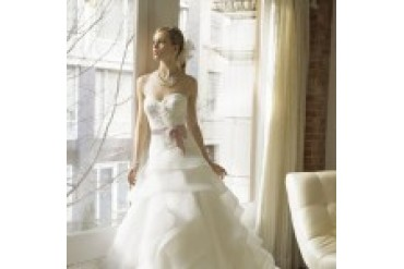 "Moonlight Couture ""In Stock"" Wedding Dress - Style H1190"