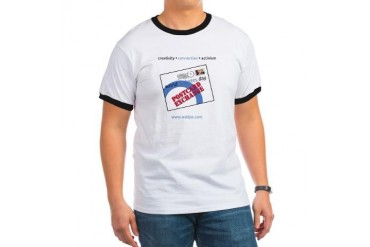 World Diabetes Day Postcard Exchange Diabetes Ringer T by CafePress
