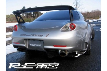 RE Amemiya Super Greddy3 Rear Bumper Trunk Kit Mazda RX-7 FD3S 93-02