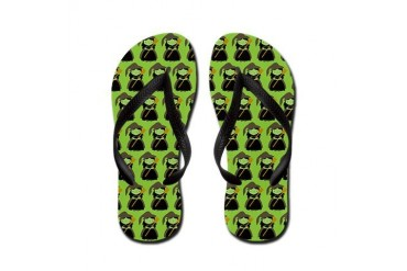 Oz Wicked Witch of the West Flip Flops