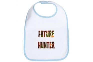 FUTURE HUNTER Gun Bib by CafePress