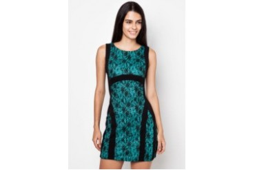 Nichii Contrast Dress