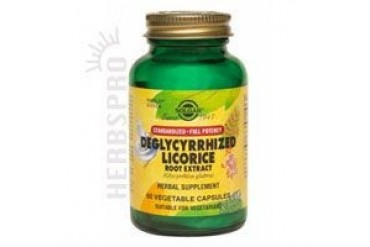 SFP Deglycyrrhized Licorice Root Extract Vegetable Capsules 60 V Caps