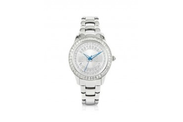 Ice Lady - Silver Sunray Watch