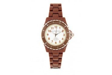 Giordano Female CL2023 - Polyamide Brown Watch