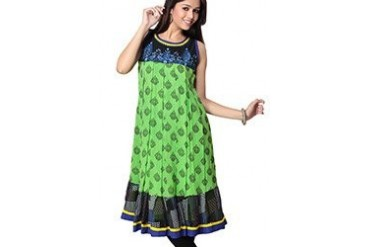 Extraordinary Printed Georgette Kurti
