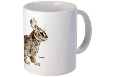 Cottontail Rabbit Pets Mug by CafePress
