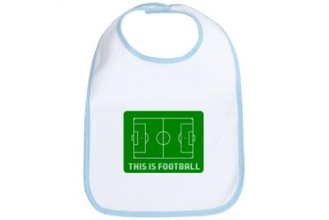 THIS IS FOOTBALL Sports Bib by CafePress