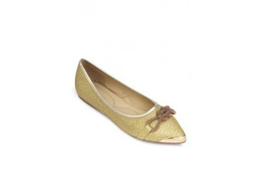 Dk. Gold Flats Loafers