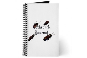 Cockroach Reptiles Journal by CafePress