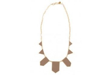 House Of Harlow 1960 Plated Five Station Necklace
