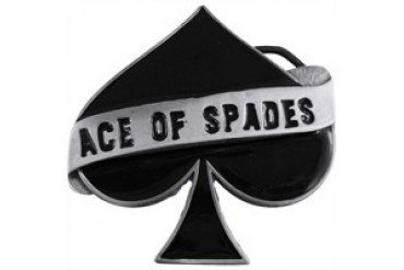 Mot/örhead Ace Of Spades Card Toppa bianco//nero