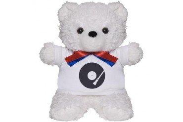 OLDSCHOOL Music Teddy Bear by CafePress