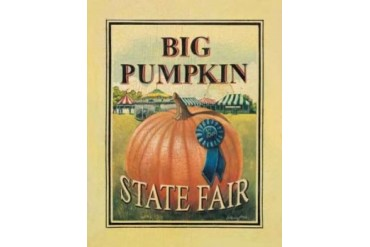 Big Pumpkin Poster Print by Catherine Jones (11 x 14)