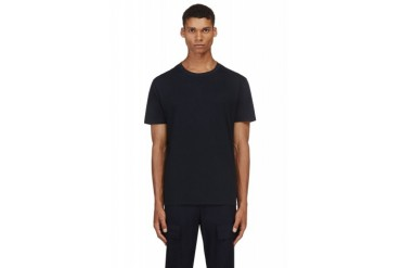 Valentino Midnight Navy Single Stud T shirt