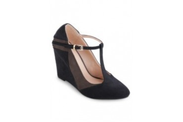 Two Tone Pointed T-Bar Wedges