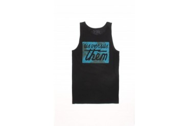 Mens Us Vs.Them Tank Tops - Us Vs.Them Palm Magnum Tank Top