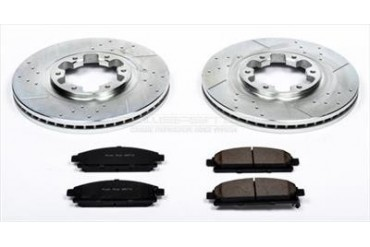 Power Stop Performance Brake Upgrade Kit K2279 Replacement Brake Pad and Rotor Kit
