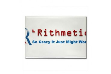 Rithmetic Political Rectangle Magnet by CafePress