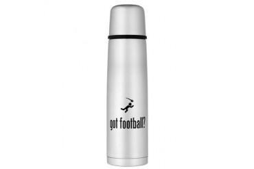 Football Large Thermos Bottle Funny Large Thermosreg; Bottle by CafePress