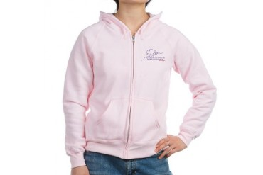 Eagle Eagle Women's Zip Hoodie by CafePress