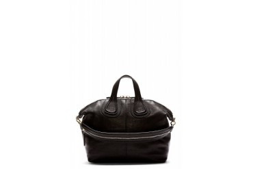 Givenchy Black Leather Medium Zanzi Nightingale Tote