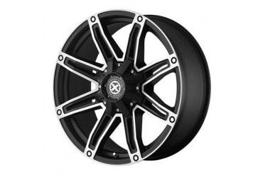 ATX Wheels AX193, 17x8.5 with 6 on 135 and 6 on 5.5 Bolt Pattern - Black AX19378567718 ATX Wheels