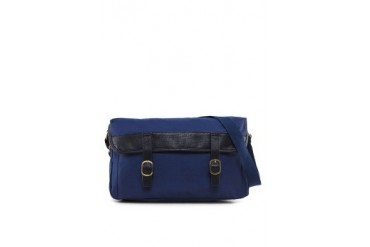 EZRA by ZALORA Coated Poly Messenger Bag