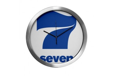 art 75.png Vintage Modern Wall Clock by CafePress