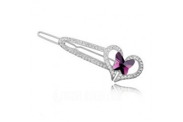 Nice Alloy With Crystal Women's Hair Jewelry (011036114)