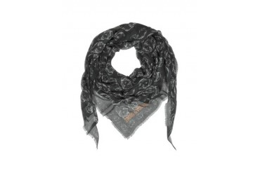 Mini Kerry Skull Modal Triangle Scarf