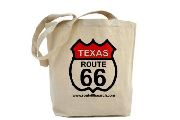 Texas Route 66 Texas Tote Bag by CafePress