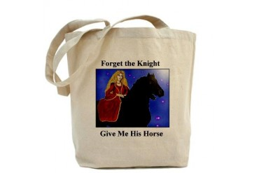 Forget the Knight Humor Tote Bag by CafePress