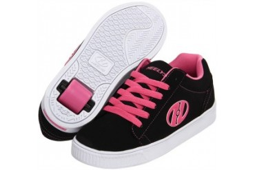 Heelys Straight Up Roller Shoe (Black/Pink/White)