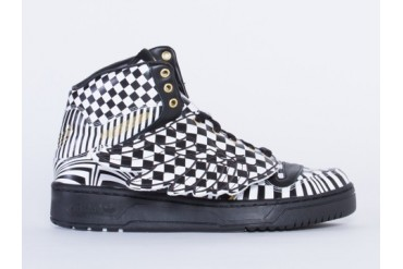 Adidas Originals X Jeremy Scott JS Wings in Checker size 10.0