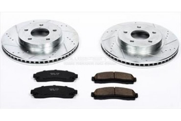 Power Stop Performance Brake Upgrade Kit K1576 Replacement Brake Pad and Rotor Kit