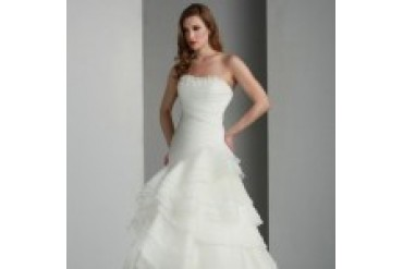 Davinci Quick Delivery Wedding Dresses - Style 50015