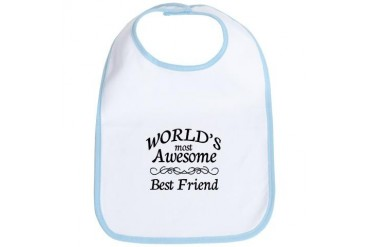 Awesome Family Bib by CafePress